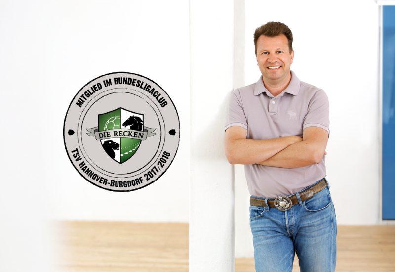 Wir unterstützen den BundesligaClub des TSV Hannover-Burgdorf!