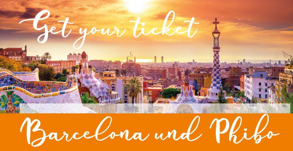 Reise nach Barcelona zur Firma phibo